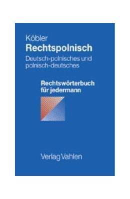 Abbildung von Köbler   Rechtspolnisch   1. Auflage   2001   beck-shop.de