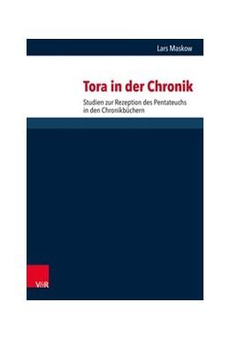 Abbildung von Maskow | Tora in der Chronik | 2019 | Studien zur Rezeption des Pent...