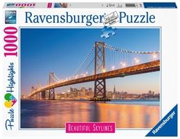 Abbildung von San Francisco. Puzzle 1000 Teile | 2019