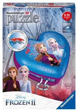 Abbildung von Herzschatulle Frozen 2. 3D Puzzle 54 Teile | 2019 | Erlebe Puzzeln in der 3. Dimen...
