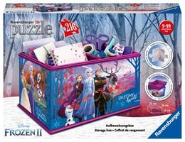 Abbildung von Disney Frozen 2 Aufbewahrungsbox. 3D Puzzle 216 Teile | 2019 | Erlebe Puzzeln in der 3. Dimen...