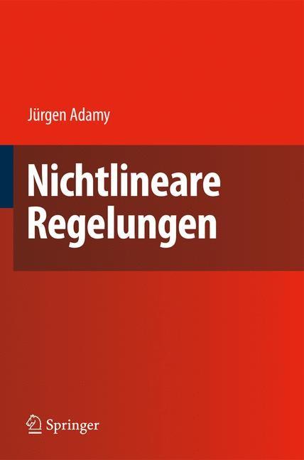 Abbildung von Adamy | Nichtlineare Regelungen | 2009