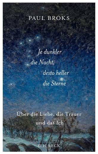 Cover: Paul Broks, Je dunkler die Nacht, desto heller die Sterne
