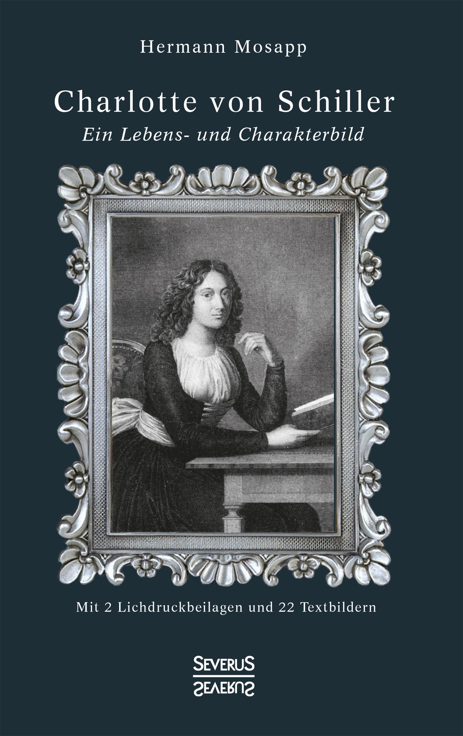 Charlotte von Schiller | Mosapp | Neusatz der Ausgabe von 1905, 2019 | Buch (Cover)