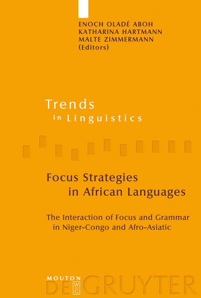 Focus Strategies in African Languages | Aboh / Hartmann / Zimmermann, 2007 | Buch (Cover)