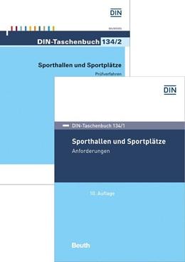 Abbildung von Sporthallen und Sportplätze | Ausgabe mit 2 Bänden | 2019 | Paket DIN-Taschenbuch 134/1 un... | 134/1 und 134/2