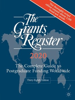 Abbildung von Palgrave Macmillan | The Grants Register 2020 | 38. Auflage | 2019 | beck-shop.de