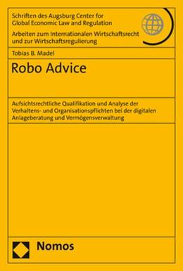 Abbildung von Madel   Robo Advice   1. Auflage   2019   79   beck-shop.de