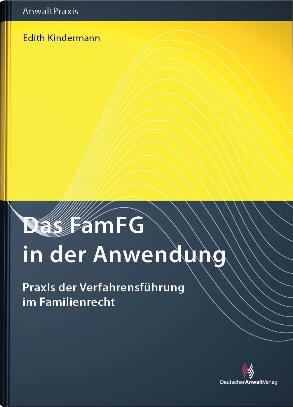 Das FamFG in der Anwendung | Kindermann | Buch (Cover)