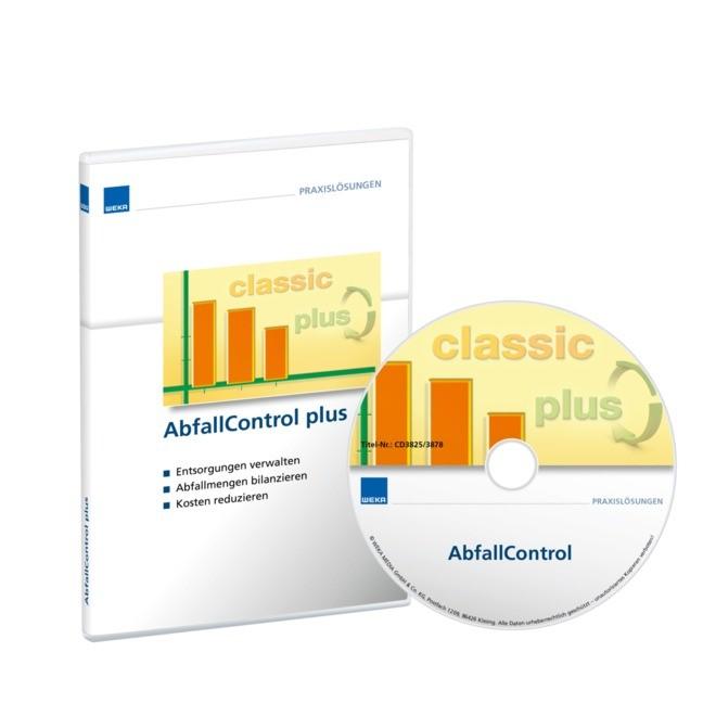 AbfallControl plus inkl. erster Jahreslizenz, 2018 (Cover)