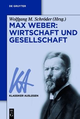 Abbildung von Schröder   Max Weber: Wirtschaft und Gesellschaft   2025   Wirtschaft und Gesellschaft   32