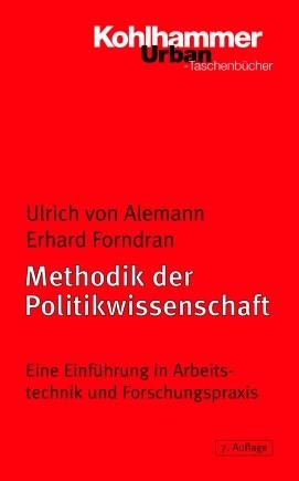 Methodik der Politikwissenschaft | Forndran / von Alemann | 7. Auflage, 2005 | Buch (Cover)