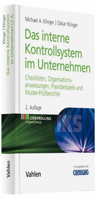 Das Interne Kontrollsystem im Unternehmen | Klinger / Klinger | 2. Auflage, 2009 | Buch (Cover)
