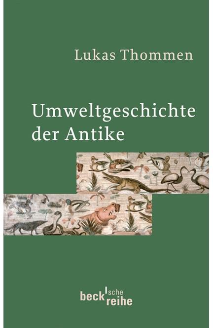 Cover: Lukas Thommen, Umweltgeschichte der Antike