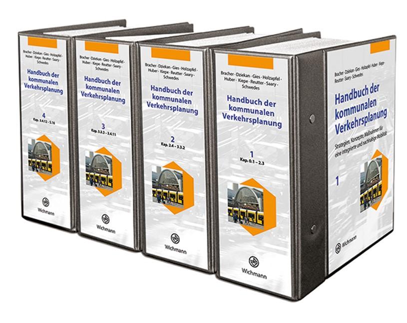 Abbildung von Bracher / Dziekan / Gies / Holzapfel / Huber / Kiepe / Reutter / Saary / Schwedes | HKV – Handbuch der kommunalen Verkehrsplanung | Loseblattwerk mit 82. Aktualisierung | 2018