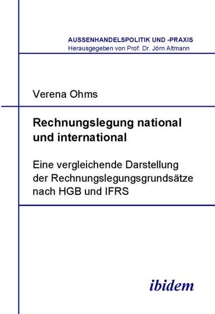 Rechnungslegung national und international | Ohms, 2005 | Buch (Cover)