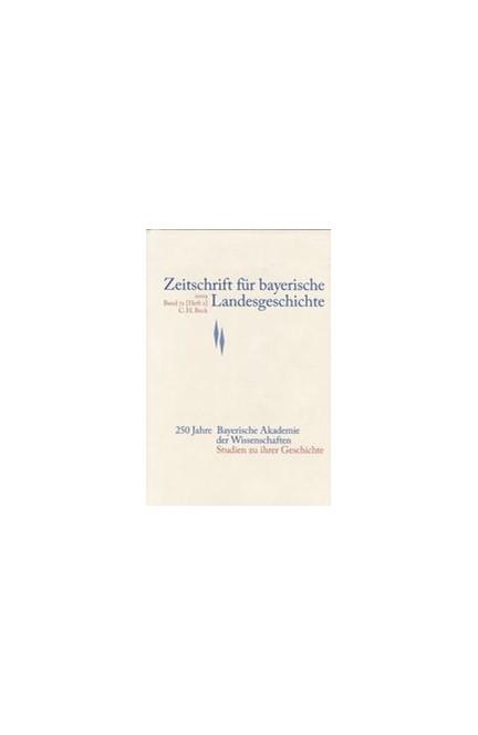 Cover: , Zeitschrift für bayerische Landesgeschichte Band 72 Heft 2/2009