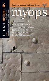 myops Heft 6 (Mai 2009), 2009 (Cover)