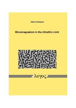 Abbildung von Portmann | Micromagnetism in the Ultrathin Limit | 2006