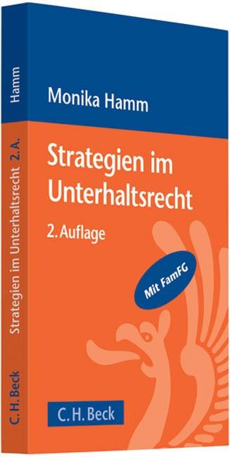 Strategien im Unterhaltsrecht | Hamm | 2., überarbeitete und erweiterte Auflage, 2009 | Buch (Cover)