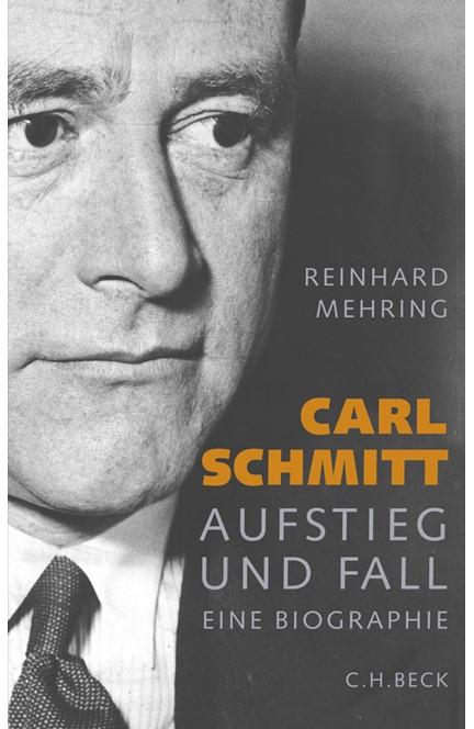 Cover: Reinhard Mehring, Carl Schmitt