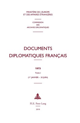 Abbildung von Documents diplomatiques français | 1. Auflage | 2019 | 43 | beck-shop.de