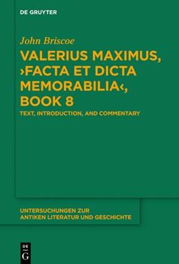 Abbildung von Briscoe | Valerius Maximus,