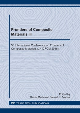 Abbildung von Martin / Agarwal | Frontiers of Composite Materials III | 2019 | 3rd International Conference o... | Volume 951