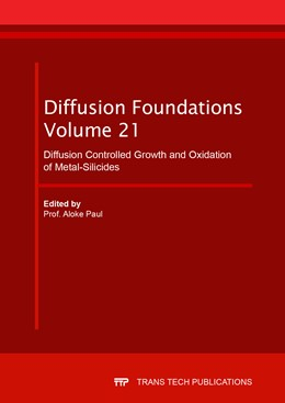 Abbildung von Paul | Diffusion Controlled Growth and Oxidation of Metal-Silicides | 1. Auflage | 2019 | Volume 21 | beck-shop.de