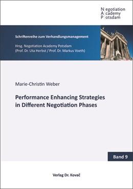 Abbildung von Weber | Performance Enhancing Strategies in Different Negotiation Phases | 2019 | 9