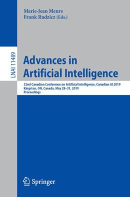 Abbildung von Meurs / Rudzicz | Advances in Artificial Intelligence | 1st ed. 2019 | 2019 | 32nd Canadian Conference on Ar...