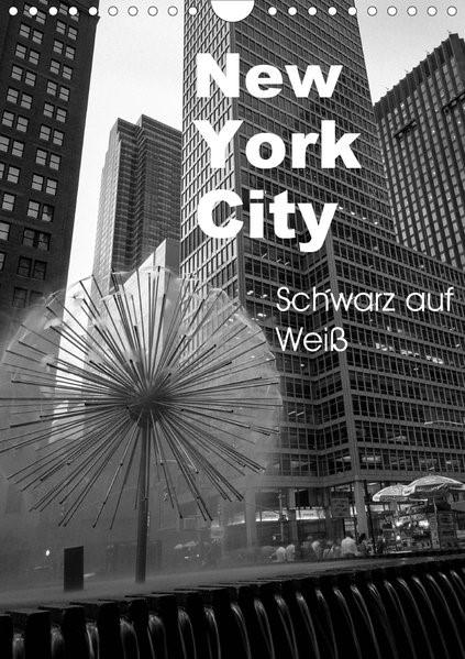 Abbildung von Aatz | New York City Schwarz auf Weiß (Wandkalender 2020 DIN A4 hoch) | 5. Edition 2019 | 2019