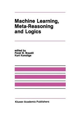Abbildung von Brazdil / Konolige | Machine Learning, Meta-Reasoning and Logics | 1990 | 1989 | 82