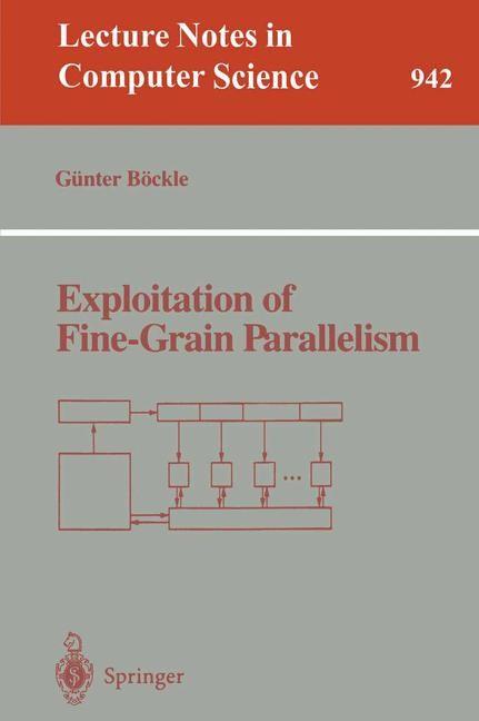 Abbildung von Böckle | Exploitation of Fine-Grain Parallelism | 1995