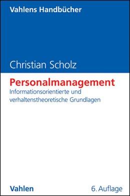 Abbildung von Scholz | Personalmanagement | 6. Auflage | 2014 | beck-shop.de
