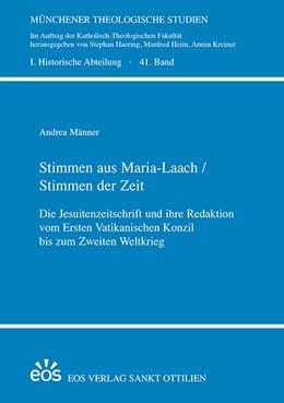 Abbildung von Männer   Stimmen aus Maria Laach / Stimmen der Zeit   1. Auflage   2019   beck-shop.de