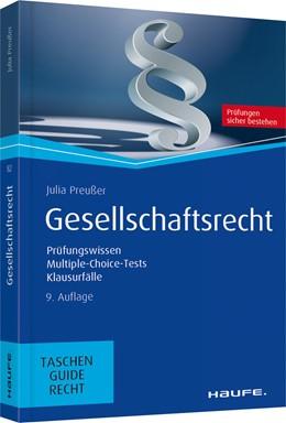 Abbildung von Preußer | Gesellschaftsrecht | 9. aktualisierte Auflage 2019 | 2019 | Prüfungswissen, Multiple-Choic... | 82