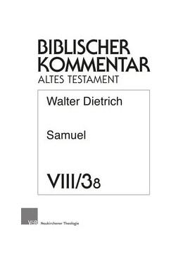Abbildung von Dietrich   Samuel (2 Sam 8. Register, Titelei)   2019   Lieferung 8