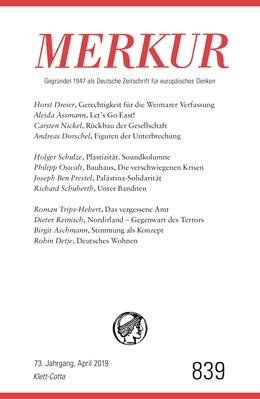 Abbildung von Demand | MERKUR Gegründet 1947 als Deutsche Zeitschrift für europäisches Denken - 2019-04 | 1. Auflage | 2019 | beck-shop.de