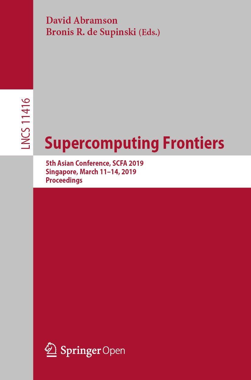Abbildung von Abramson / de Supinski | Supercomputing Frontiers | 1st ed. 2019 | 2019