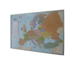 Abbildung von Politische Europakarte als Poster, deutsch, ca. 90x61cm | 2019 | Maßstab 1:10.350.000 Mio.