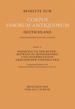Abbildung von Schmidt, Stefan / Oakley, John H. | Hermeneutik der Bilder | 1. Auflage | 2009 | Band 4 | beck-shop.de