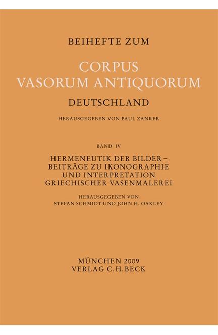 Cover: , Hermeneutik der Bilder