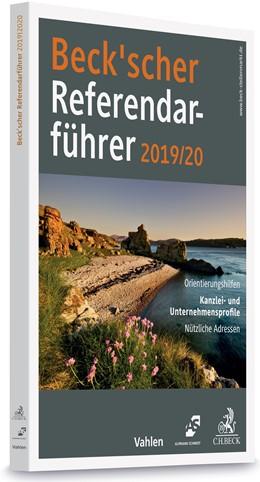 Abbildung von Beck'scher Referendarführer 2019/2020 | 2019 | Kanzlei- und Unternehmensprofi...