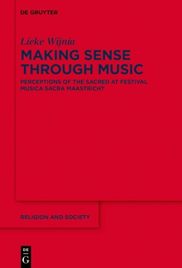 Abbildung von Wijnia   Making Sense Through Music   2021   Perceptions of the Sacred at F...   80