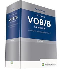 Abbildung von Leinemann (Hrsg.) | VOB/B - Kommentar | 7. Auflage | 2019 | mit FIDIC conditions of contra...