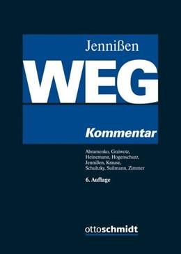 Abbildung von Jennißen (Hrsg.) | Wohnungseigentumsgesetz: WEG | 6., neu bearbeitete Auflage | 2019