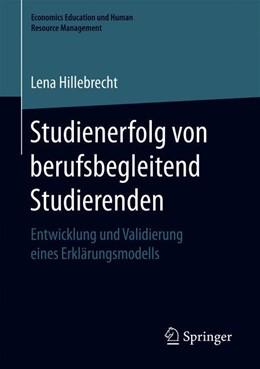 Abbildung von Hillebrecht | Studienerfolg von berufsbegleitend Studierenden | 2019 | Entwicklung und Validierung ei...