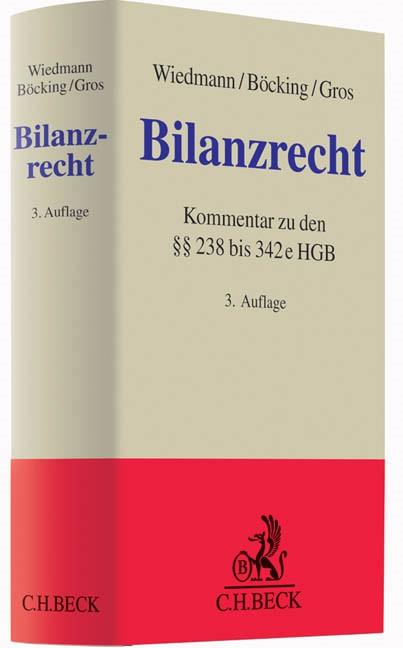 Bilanzrecht | Wiedmann / Böcking / Gros | 3. Auflage, 2014 | Buch (Cover)