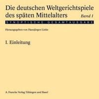 Die deutschen Weltgerichtspiele des späten Mittelalters | Linke, 2002 | Buch (Cover)